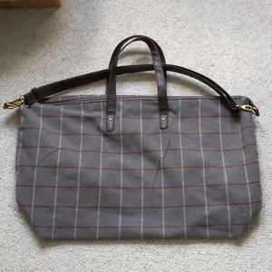 Handbags - Weekender Bag gray color with all straps